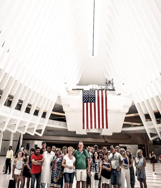 Group Photo in the Oculus