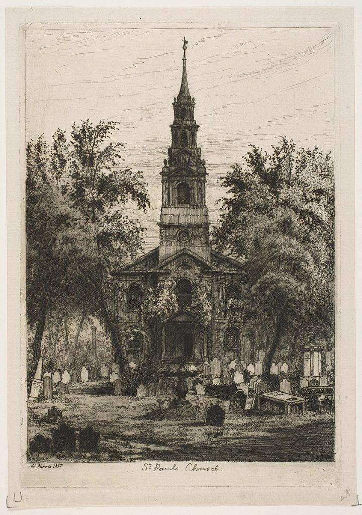 Saint Paul's Chapel 1877