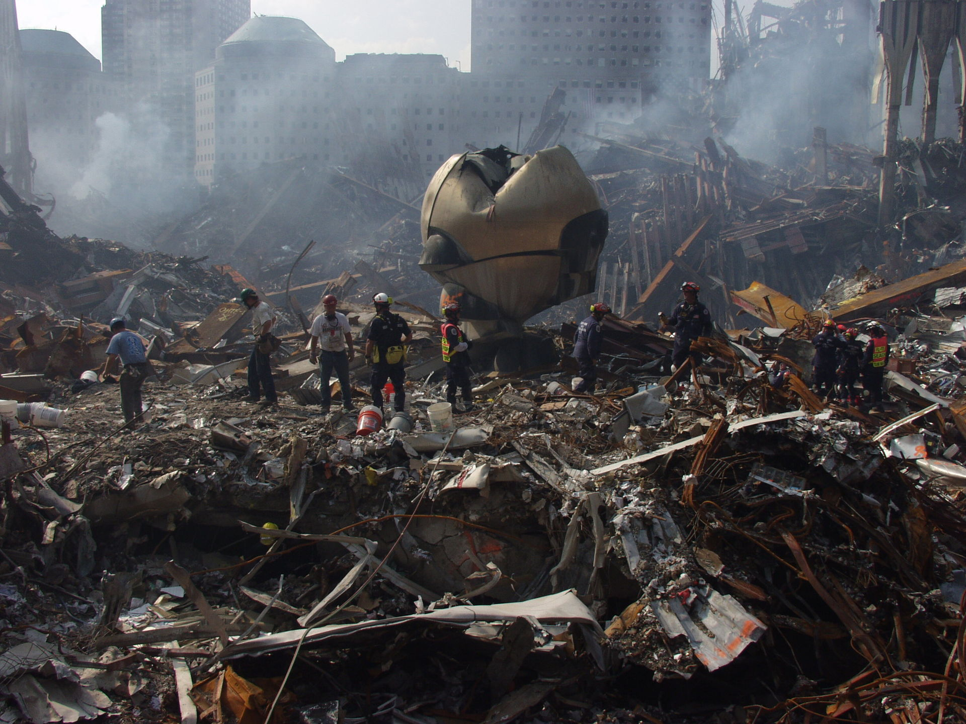 The Sphere on 9/11