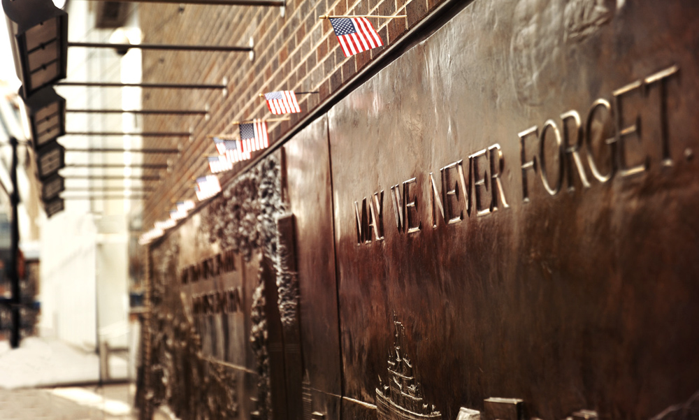 FDNY Memorial Wall at Ground Zero