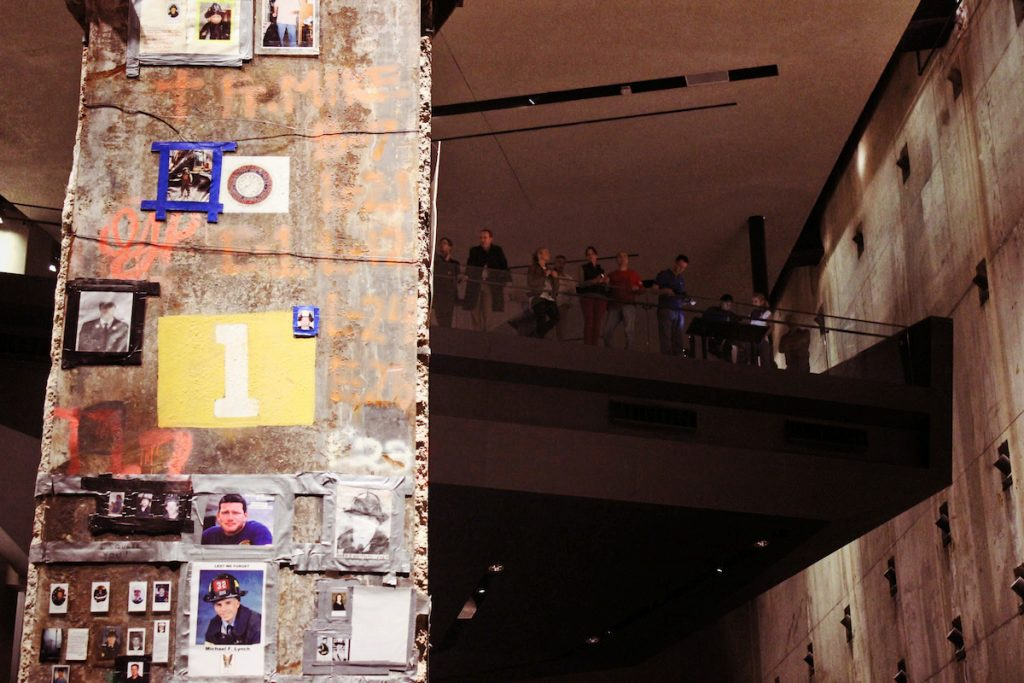 The Last Column inside the 9/11 Museum