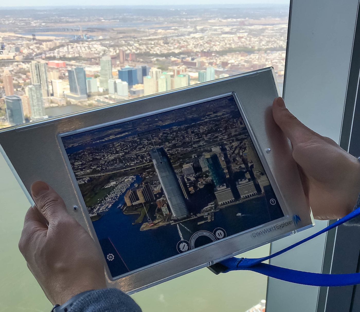 One World Explorer at the One World Observatory in NYC