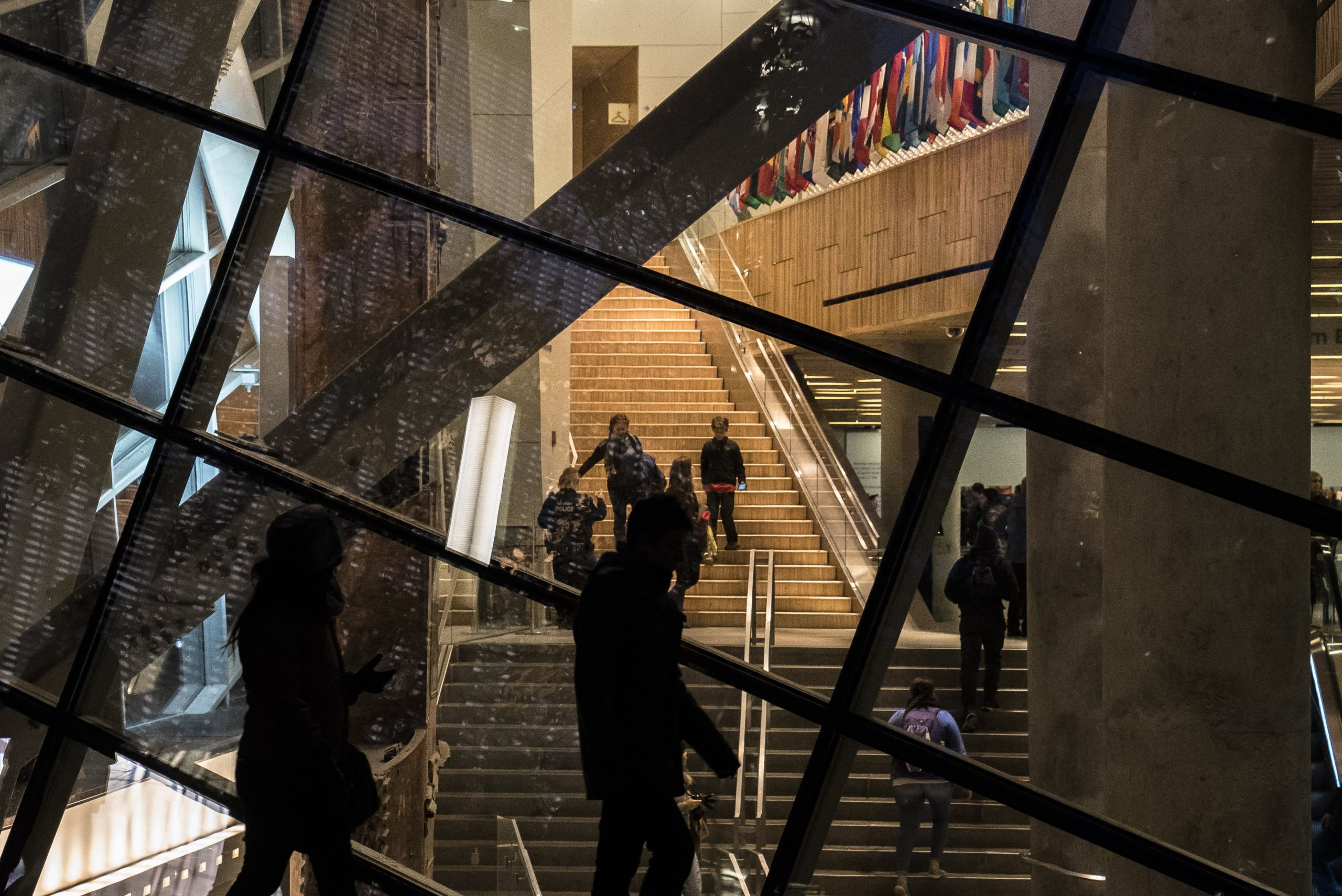 9/11 Museum Stairs